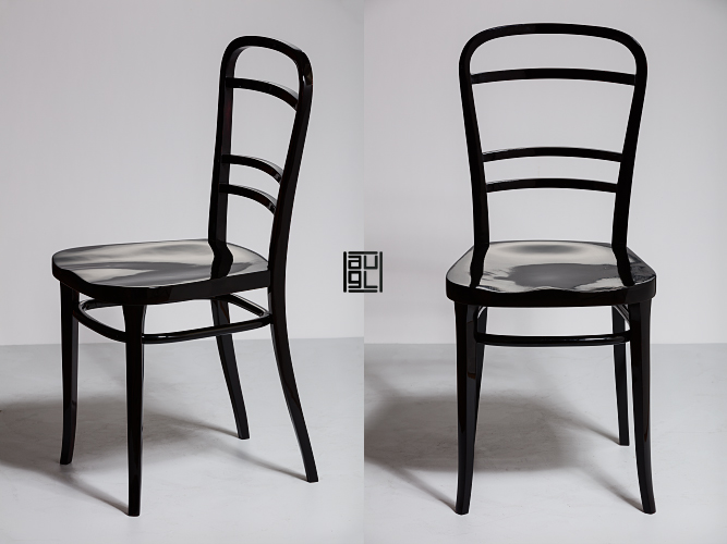 Otto Wagner for Thonet side chair Postsparkasse Vienna